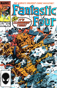 Cover Thumbnail for Fantastic Four (Marvel, 1961 series) #274