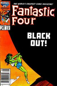 Cover Thumbnail for Fantastic Four (Marvel, 1961 series) #293 [Newsstand Edition]