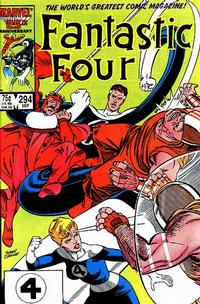Cover Thumbnail for Fantastic Four (Marvel, 1961 series) #294 [Direct Edition]