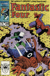 Cover Thumbnail for Fantastic Four (Marvel, 1961 series) #299 [Direct Edition]