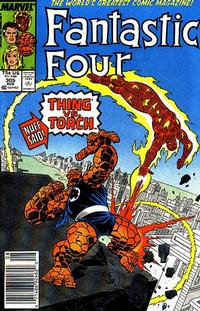 Cover for Fantastic Four (1961 series) #305