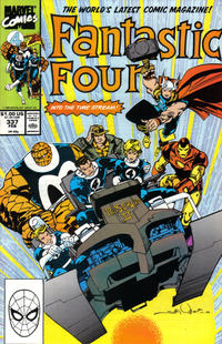 Cover Thumbnail for Fantastic Four (Marvel, 1961 series) #337 [Direct Edition]