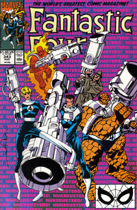 Cover Thumbnail for Fantastic Four (Marvel, 1961 series) #343 [Direct Edition]