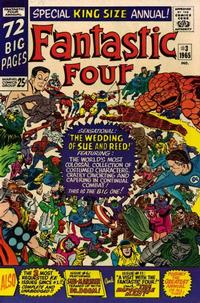 Cover Thumbnail for Fantastic Four Annual (Marvel, 1963 series) #3