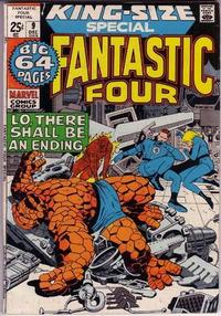 Cover for Fantastic Four Annual (1963 series) #9