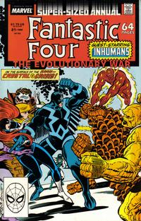 Cover Thumbnail for Fantastic Four Annual (Marvel, 1963 series) #21 [Direct Edition]