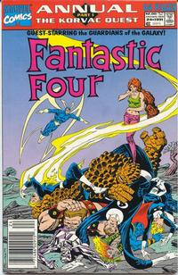 Cover Thumbnail for Fantastic Four Annual (Marvel, 1963 series) #24 [Newsstand Edition]