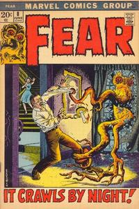 Cover Thumbnail for Fear (Marvel, 1970 series) #8