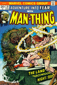 Cover Thumbnail for Fear (Marvel, 1970 series) #19