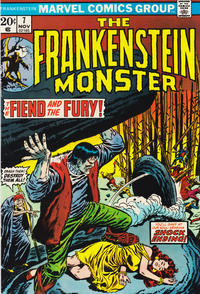 Cover Thumbnail for Frankenstein (Marvel, 1973 series) #7