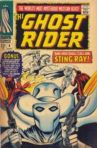 Cover Thumbnail for Ghost Rider (Marvel, 1967 series) #4