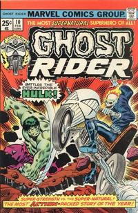 Cover Thumbnail for Ghost Rider (Marvel, 1973 series) #10 [Regular Edition]