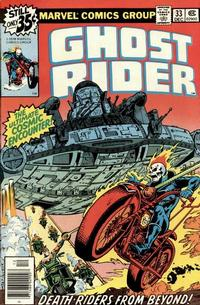 Cover Thumbnail for Ghost Rider (Marvel, 1973 series) #33