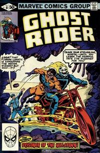 Cover Thumbnail for Ghost Rider (Marvel, 1973 series) #61 [Direct Edition]