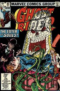 Cover Thumbnail for Ghost Rider (Marvel, 1973 series) #80