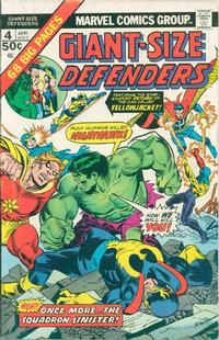 Cover Thumbnail for Giant-Size Defenders (Marvel, 1974 series) #4