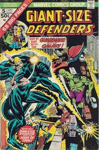 Cover Thumbnail for Giant-Size Defenders (Marvel, 1974 series) #5