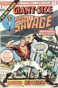 Cover Thumbnail for Giant-Size Doc Savage (Marvel, 1975 series) #1