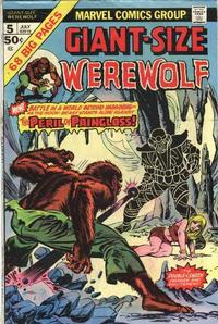 Cover Thumbnail for Giant-Size Werewolf (Marvel, 1974 series) #5