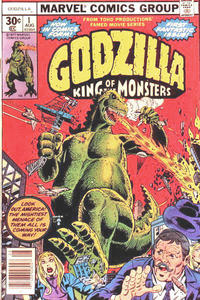 Cover Thumbnail for Godzilla (Marvel, 1977 series) #1 [30 cent cover price]