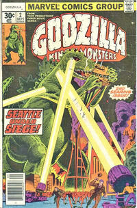 Cover Thumbnail for Godzilla (Marvel, 1977 series) #2 [30 cent cover price]