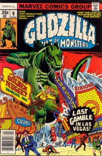 Cover for Godzilla (Marvel, 1977 series) #9