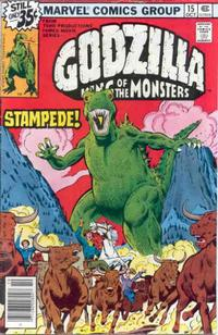 Cover Thumbnail for Godzilla (Marvel, 1977 series) #15