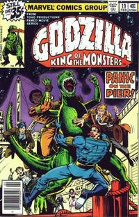 Cover Thumbnail for Godzilla (Marvel, 1977 series) #19