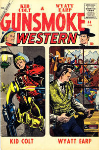 Cover Thumbnail for Gunsmoke Western (Marvel, 1955 series) #44