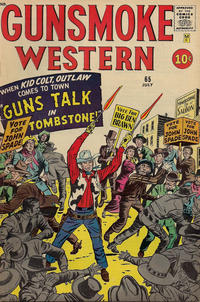 Cover Thumbnail for Gunsmoke Western (Marvel, 1955 series) #65