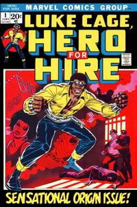 Cover Thumbnail for Hero for Hire (Marvel, 1972 series) #1