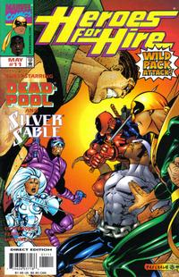 Cover Thumbnail for Heroes for Hire (Marvel, 1997 series) #11