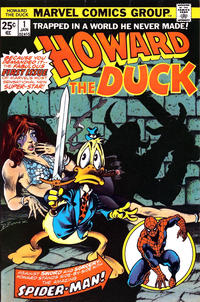 Cover Thumbnail for Howard the Duck (Marvel, 1976 series) #1