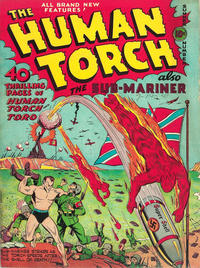 Cover Thumbnail for The Human Torch (Marvel, 1940 series) #5[a]