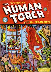 Cover Thumbnail for The Human Torch (Marvel, 1940 series) #6