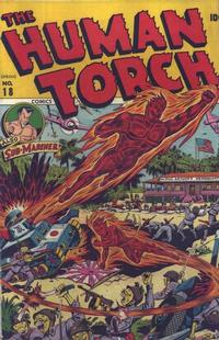 Cover Thumbnail for The Human Torch (Marvel, 1940 series) #18