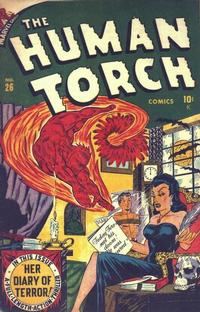 Cover Thumbnail for The Human Torch (Marvel, 1940 series) #26