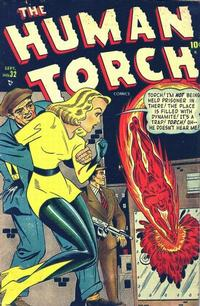 Cover Thumbnail for The Human Torch (Marvel, 1940 series) #32