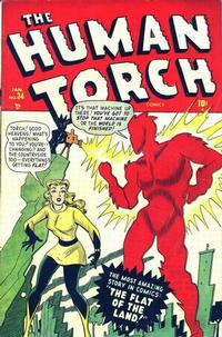 Cover Thumbnail for The Human Torch (Marvel, 1940 series) #34