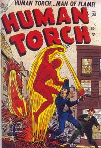 Cover Thumbnail for The Human Torch (Marvel, 1940 series) #36