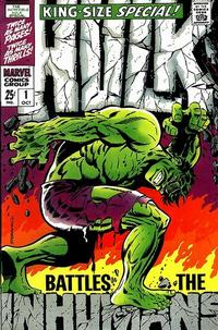 Cover Thumbnail for The Incredible Hulk Special (Marvel, 1968 series) #1
