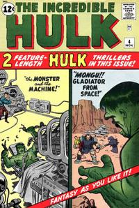 Cover Thumbnail for The Incredible Hulk (Marvel, 1962 series) #4