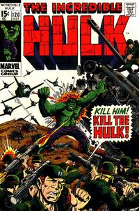 Cover Thumbnail for The Incredible Hulk (Marvel, 1968 series) #120
