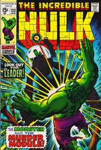 Cover Thumbnail for The Incredible Hulk (Marvel, 1968 series) #123