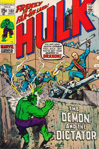 Cover Thumbnail for The Incredible Hulk (Marvel, 1968 series) #133