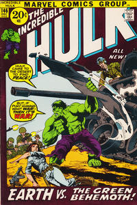 Cover Thumbnail for The Incredible Hulk (Marvel, 1968 series) #146 [Regular Edition]