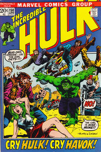 Cover Thumbnail for The Incredible Hulk (Marvel, 1968 series) #150