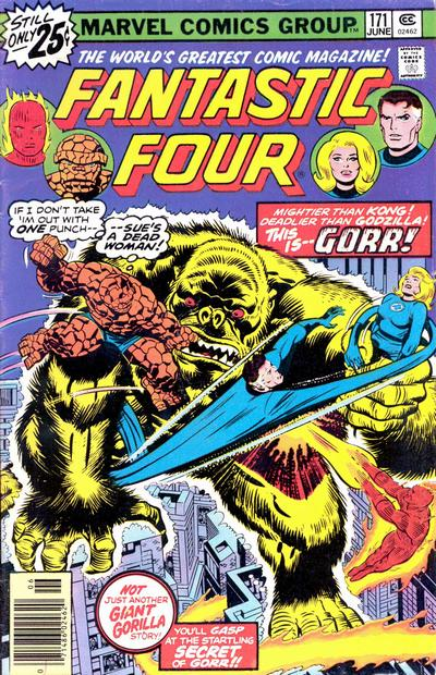 Cover for Fantastic Four (Marvel, 1961 series) #171