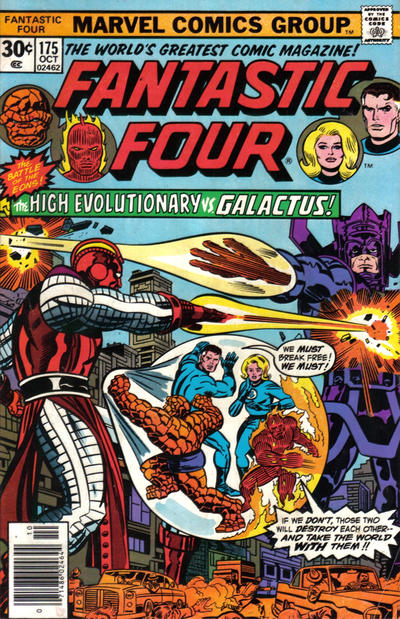 Cover for Fantastic Four (Marvel, 1961 series) #175