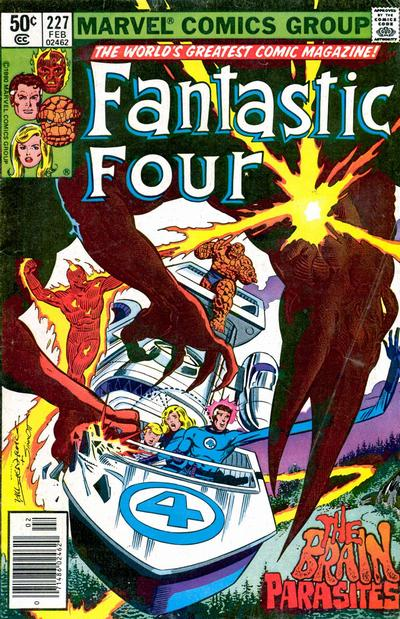 Cover for Fantastic Four (Marvel, 1961 series) #227 [direct edition]